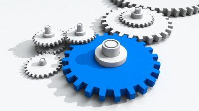 Application development cogs illustration